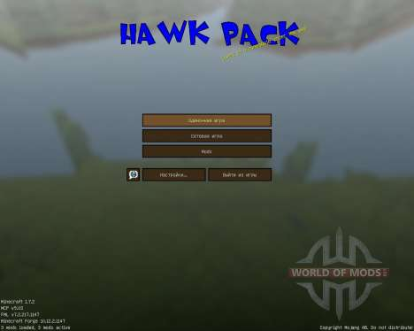 HawkPack [32x][1.7.2] pour Minecraft