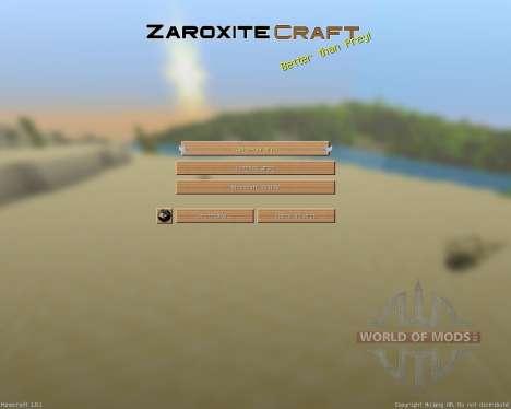 Zaroxite Craft [32x][1.8.1] pour Minecraft