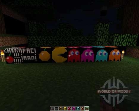 Pacman-Pack [32х][1.8.1] für Minecraft