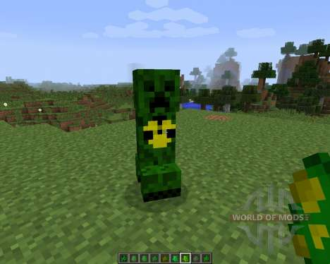 Elemental Creepers 2 [1.7.2] pour Minecraft