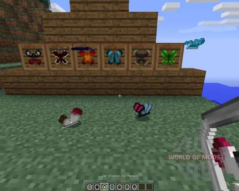 Butterfly Mania [1.6.2] pour Minecraft