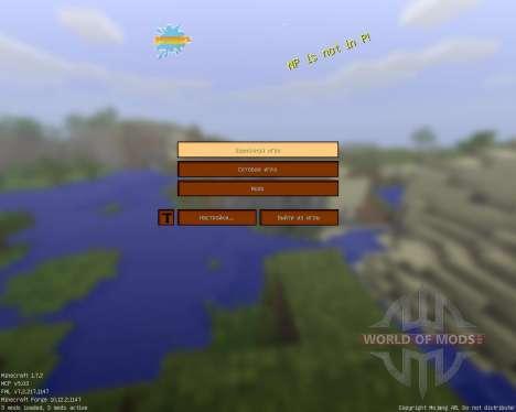 Xiticraft Simplistic pack [16x][1.7.2] für Minecraft