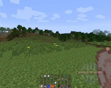 Quick Hotbar [1.7.2] pour Minecraft