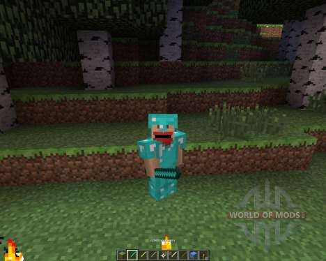 CraftedNinja [16x][1.7.2] pour Minecraft