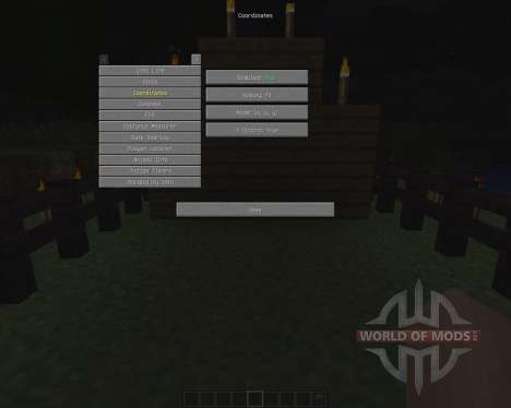Zyins HUD [1.6.2] pour Minecraft