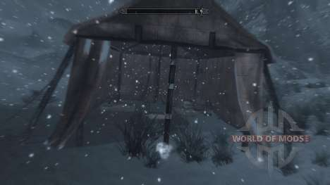 Gel - salut dans le camp [2.6] pour Skyrim neuvième écran