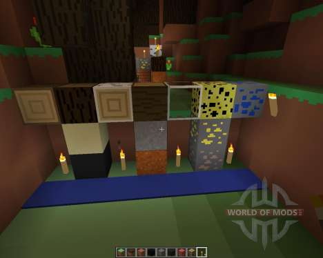 PixelPack by Cichyy [16x][1.7.2] pour Minecraft