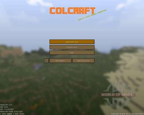 ColCraft [16x][1.7.2] für Minecraft