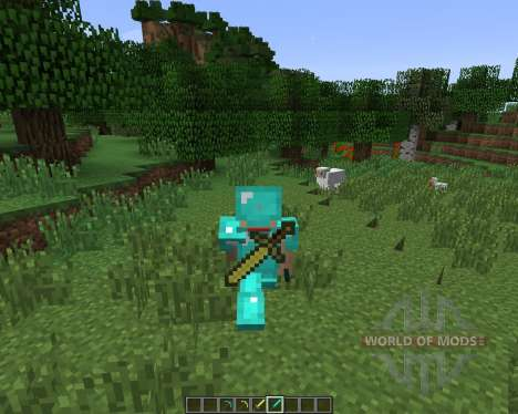Back Tools [1.7.2] für Minecraft