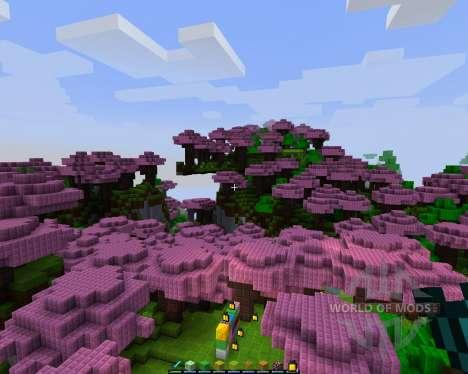 Polyédrique: Reborn [8х][1.8.1] pour Minecraft