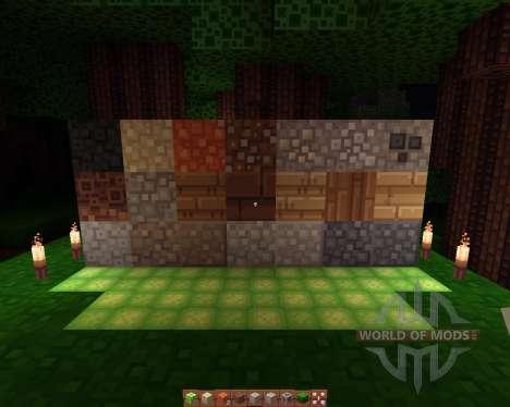 Quadral resourcepack [16х][1.8.1] für Minecraft