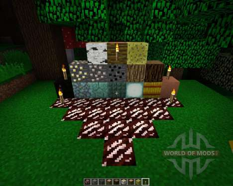The Crafting Pack [16x][1.8.1] pour Minecraft