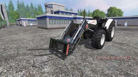 Steyr Multi 4115 roofless pour Farming Simulator 2015