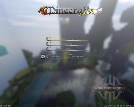 DRAGONS EDGE [32x][1.8.1] pour Minecraft