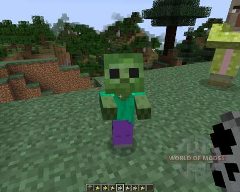 Kwasti Bust Monsters [1.7.2] pour Minecraft
