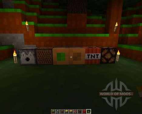 4 bit pack [8x][1.7.2] pour Minecraft