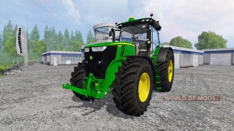 John Deere 7290R and 8370R für Farming Simulator 2015