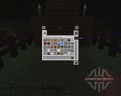 MrCrayfishs Furniture [1.6.2] pour Minecraft