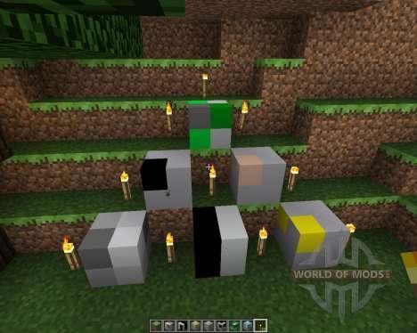 2x2 Craft [8x][1.7.2] pour Minecraft