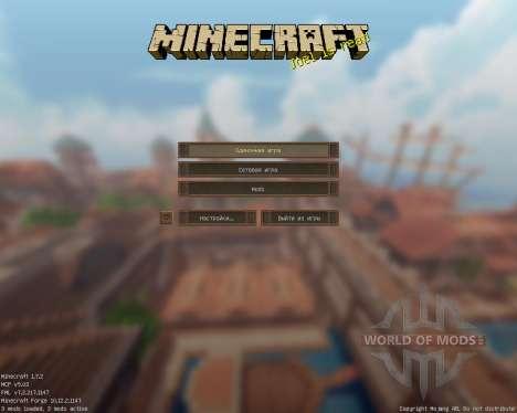 Halcyon Days [32x][1.7.2] für Minecraft