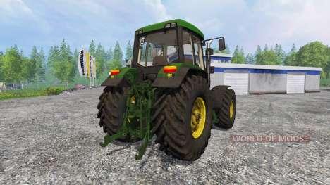 John Deere 6800 FL dirt für Farming Simulator 2015