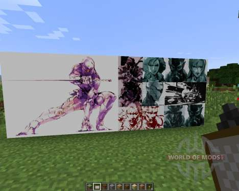 Metal Gear Solid ART PACK [128x][1.7.2] pour Minecraft