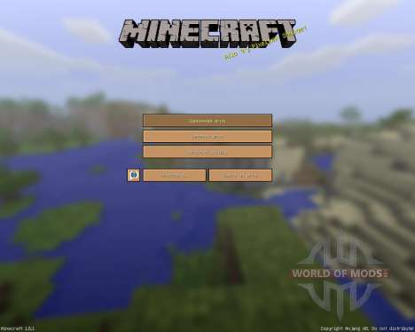 SimpleJCraft 3D [16x][1.8.1] für Minecraft
