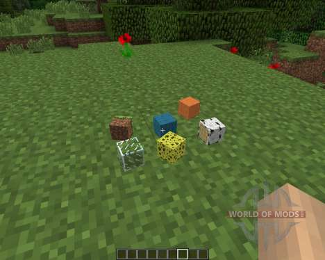 ItemPhysic [1.7.2] pour Minecraft