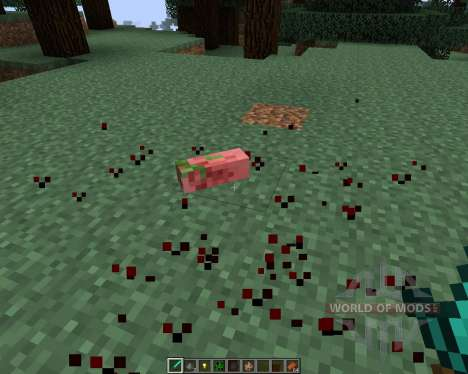 Mob Amputation [1.7.2] für Minecraft