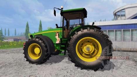 John Deere 8520 [plowing] für Farming Simulator 2015