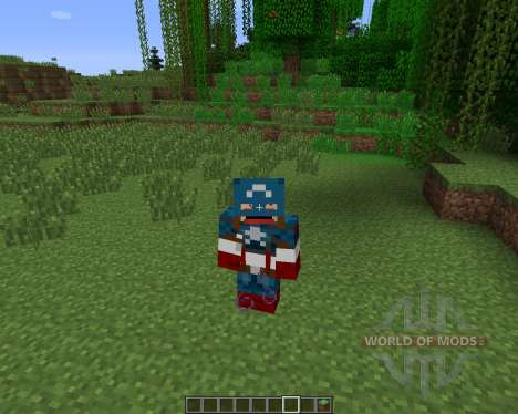 Super Heroes [1.6.2] pour Minecraft