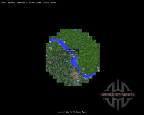 MapWriter [1.7.2] für Minecraft