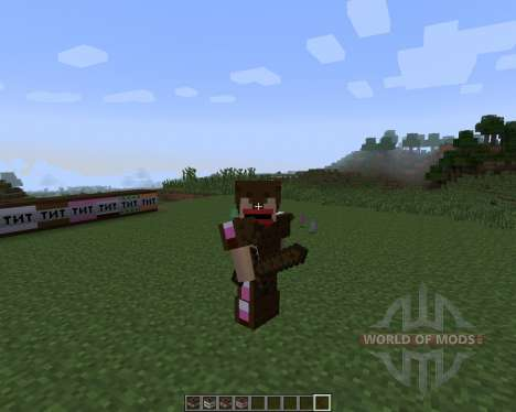The Ice Cream Sandwich Creeper [1.7.2] für Minecraft