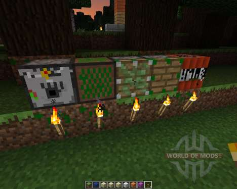 Leafwalkers Resource Pack [16x][1.7.2] pour Minecraft