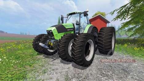Deutz-Fahr Agrotron 7250 TTV v1.2 pour Farming Simulator 2015