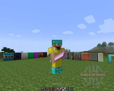 Tinkers Construct [1.7.2] pour Minecraft