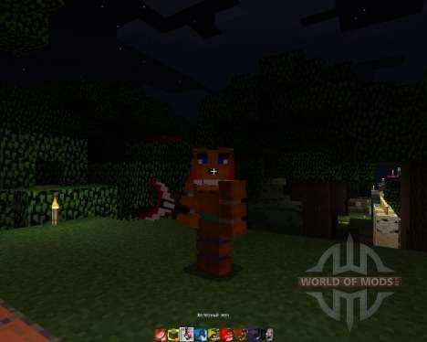 Five Nights At Freddys 2 [64х][1.8.1] pour Minecraft