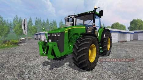 John Deere 8360R v2.0 pour Farming Simulator 2015