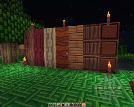 HazelWood [16x][1.7.2] pour Minecraft