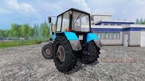 MTZ-82.1 belarussischen v2.0 für Farming Simulator 2015
