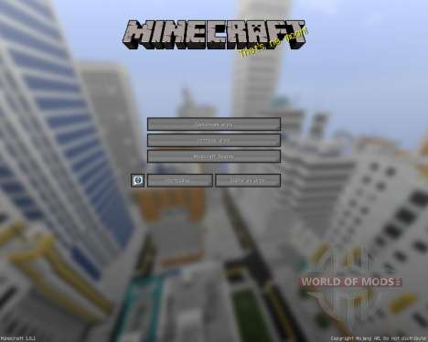 Memorys Modern [16x][1.8.1] pour Minecraft
