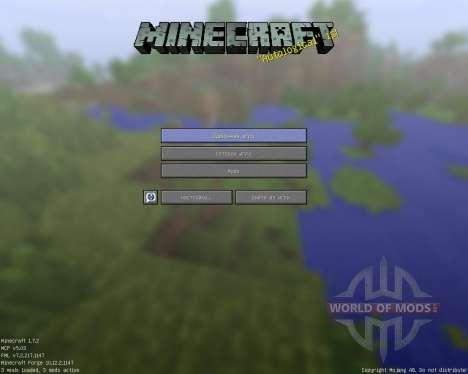 Rectangular Pack [128x][1.7.2] pour Minecraft