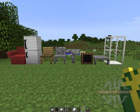 MrCrayfishs Furniture [1.7.2] pour Minecraft