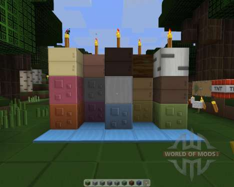 Simplex - Revived [128x][1.8.1] pour Minecraft