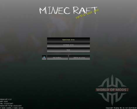 SlenderCraft [16x][1.7.2] pour Minecraft