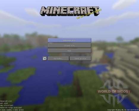 Faithdul [64x][1.7.2] für Minecraft