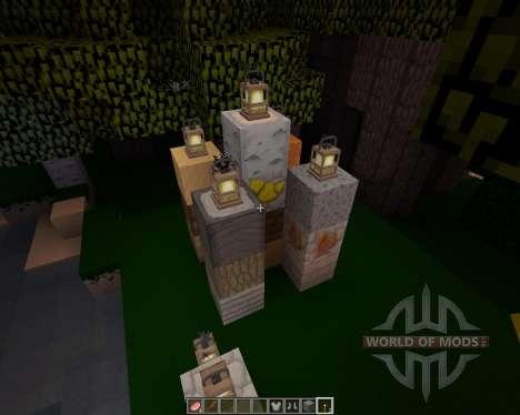 Cailloux [32х][1.8.1] pour Minecraft