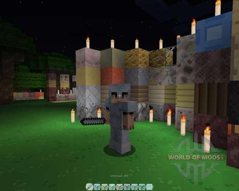 Le feu de la Feuille [16х][1.8.1] pour Minecraft