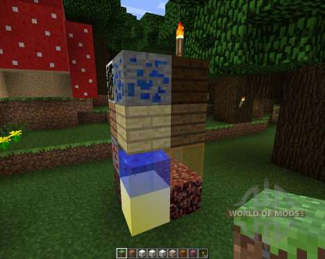 Robinrakos [16x][1.7.2] pour Minecraft