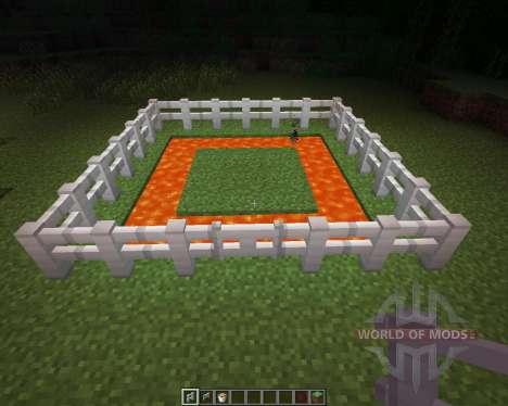 Iron Fence [1.6.2] für Minecraft